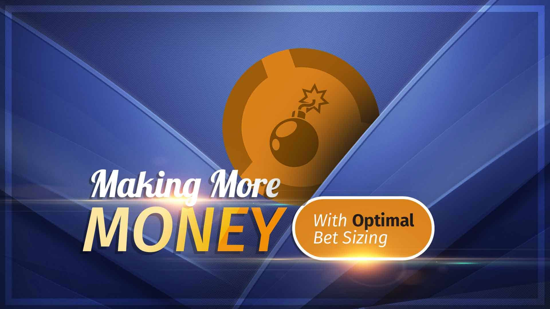 Bet Sizing strategy