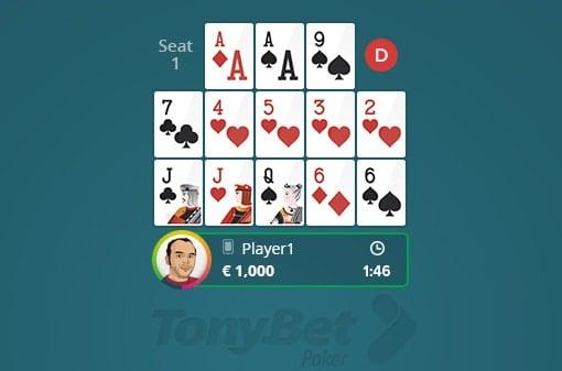 OFC poker pineapple