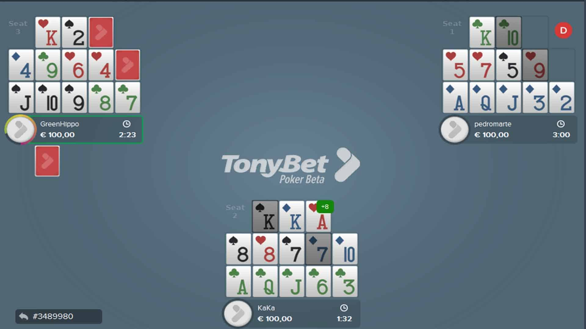 open face Chinese poker rules online