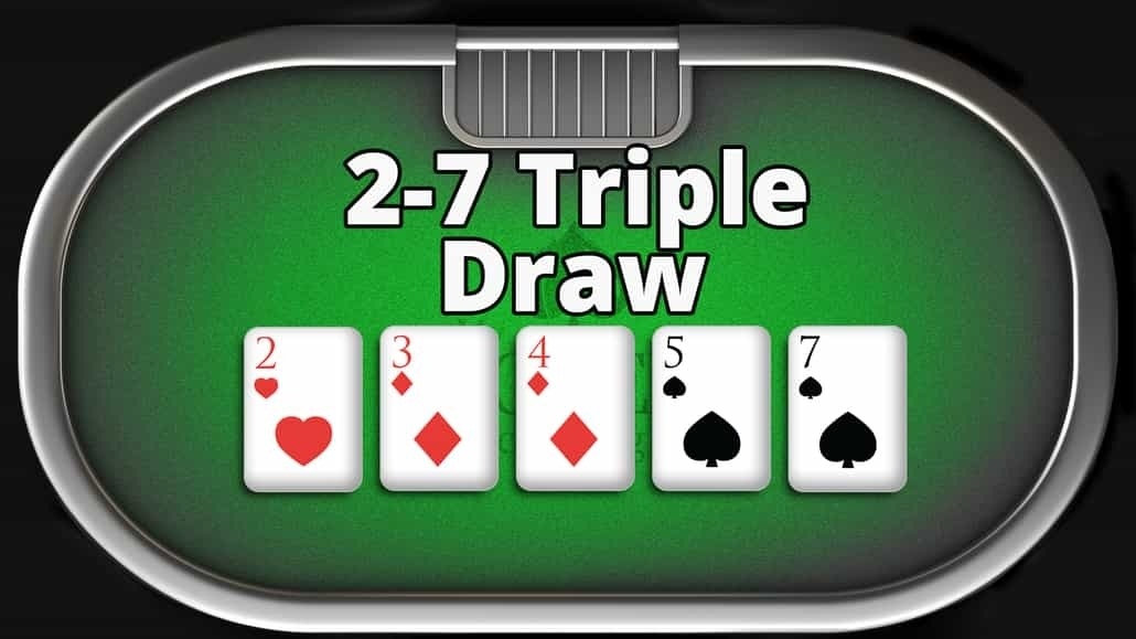 2-7 triple draw rules game
