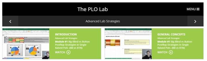 plo lab review intro upswing