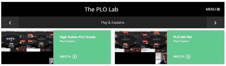 plo lab review play tips