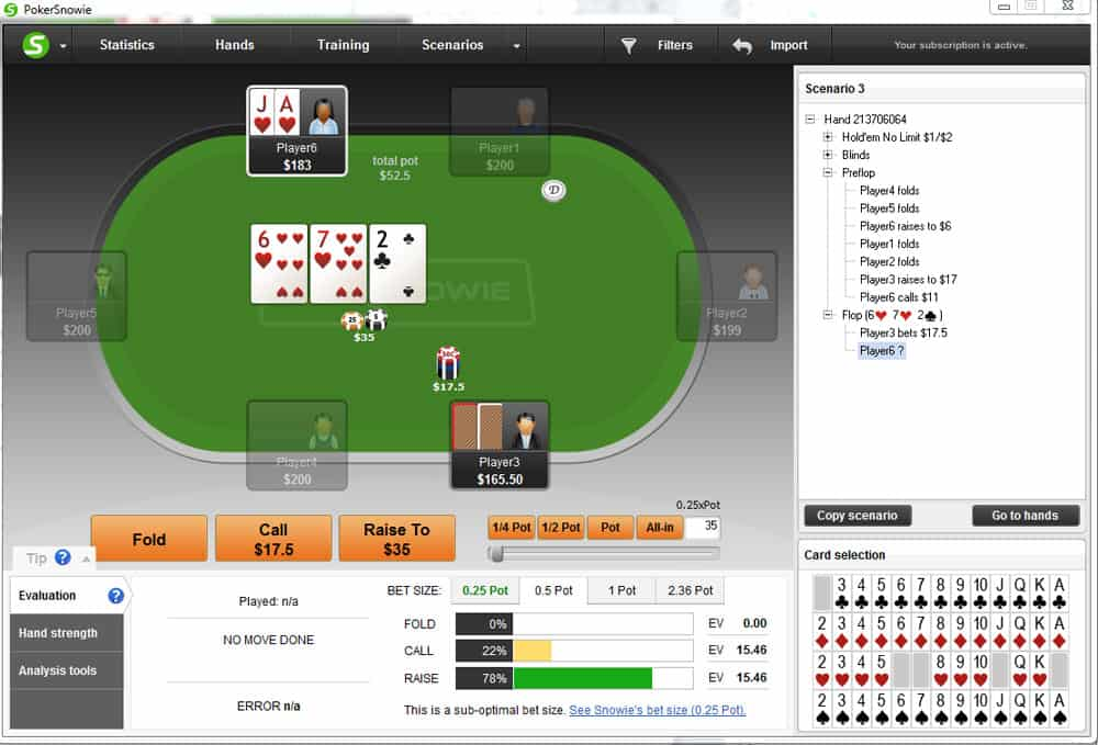 Playing draws in position poker