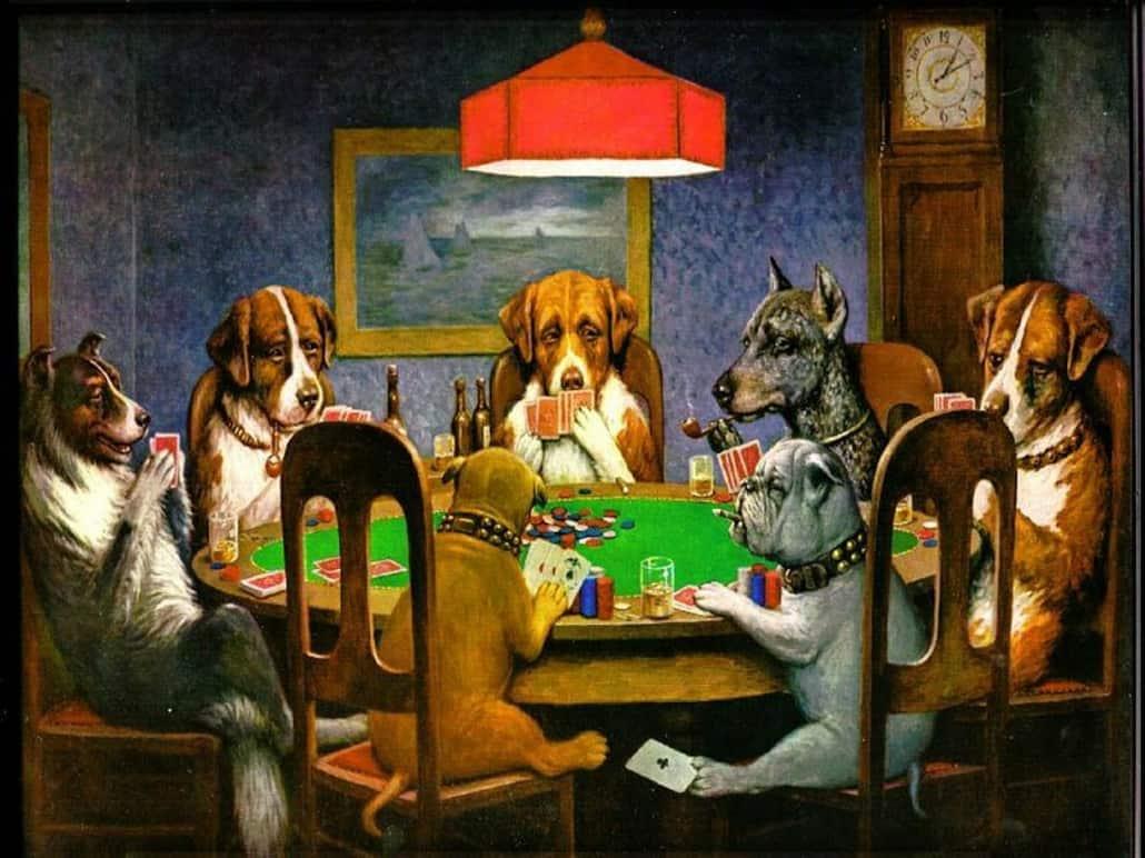 bluffs in poker