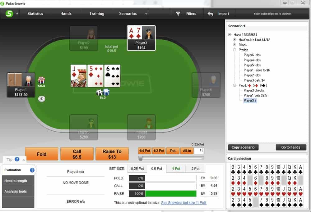 semi bluffing tips equity play