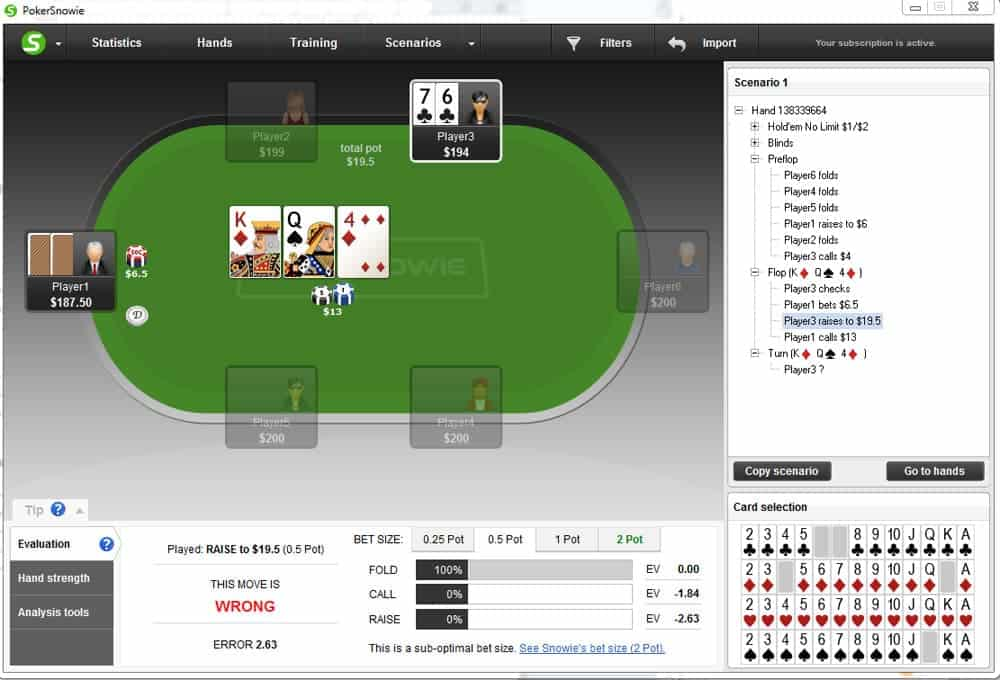 bluffing strategies in different spots