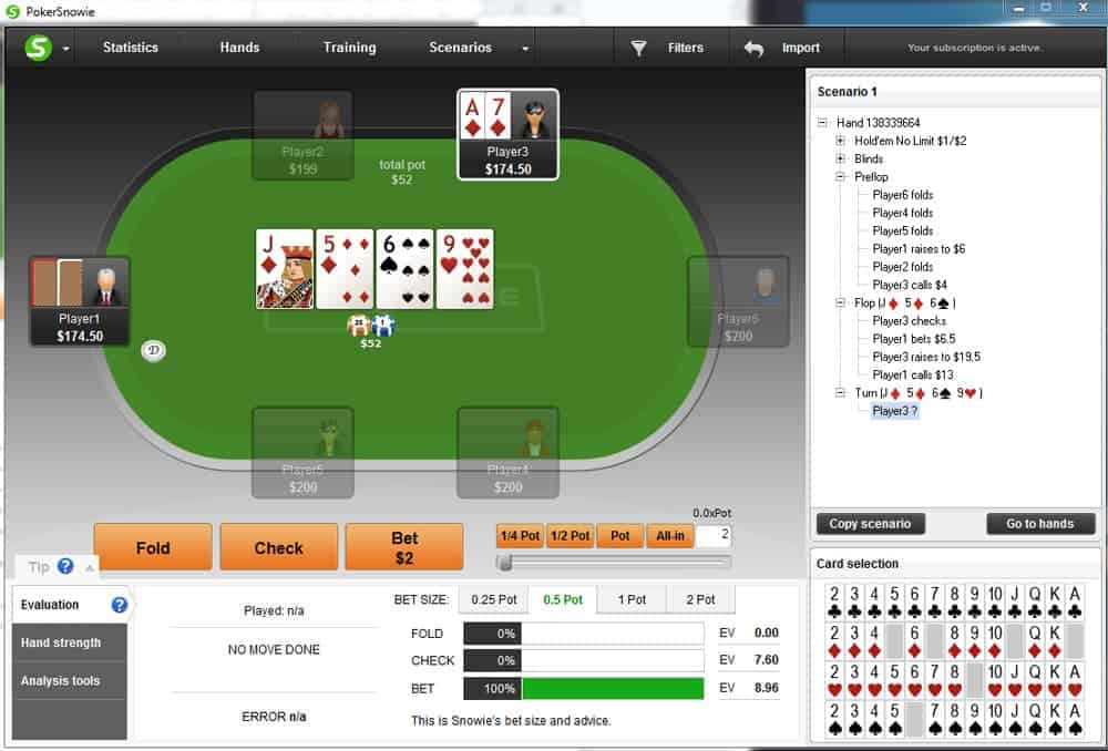 bluffing in your games different runouts