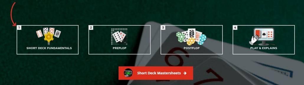 upswing short deck holdem course content