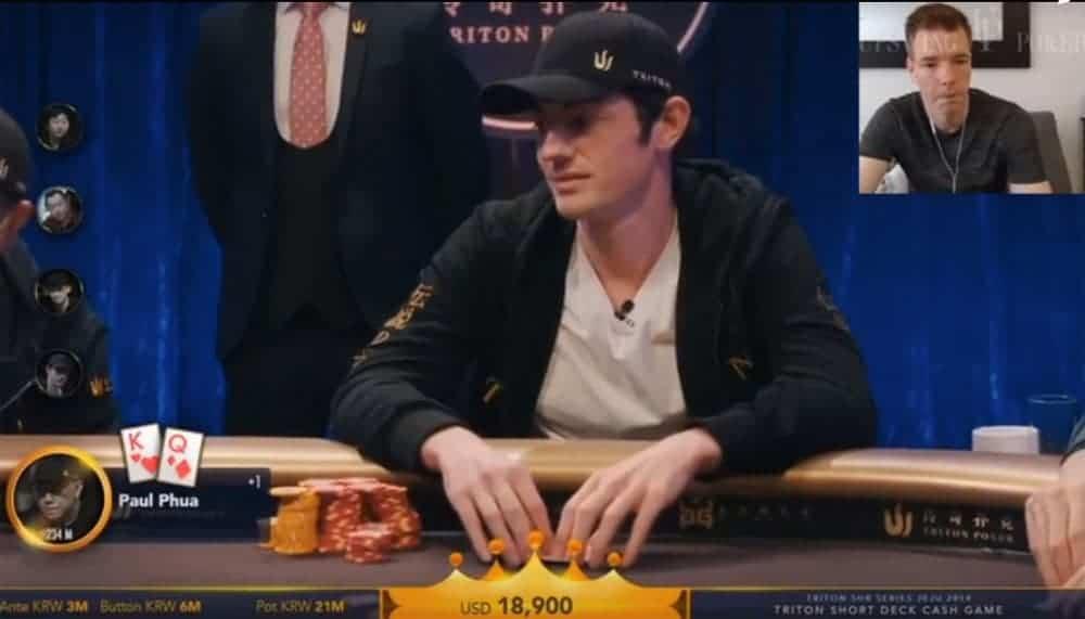 tom dwan in short deck poker game