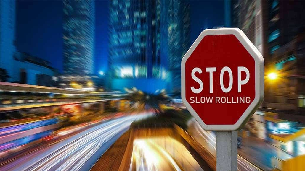 slow roll poker