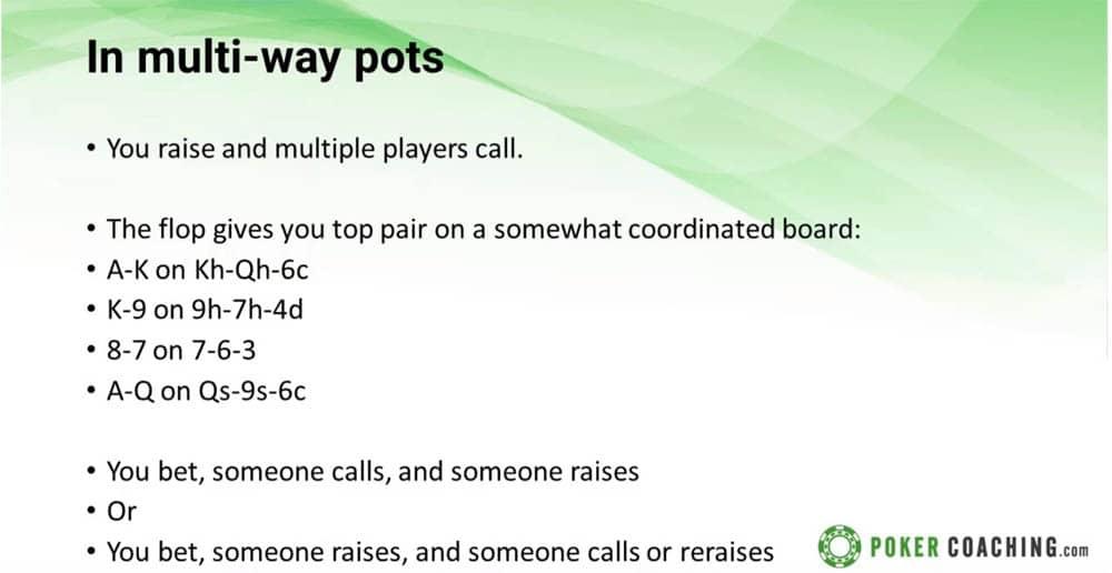 Jonathan Little Poker coaching multiway pots