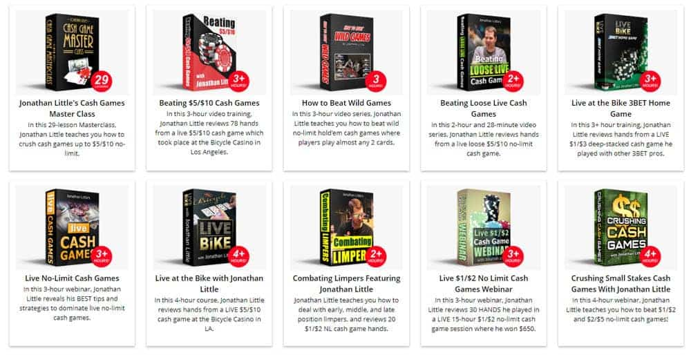 Jonathan Little Poker course and bundles review