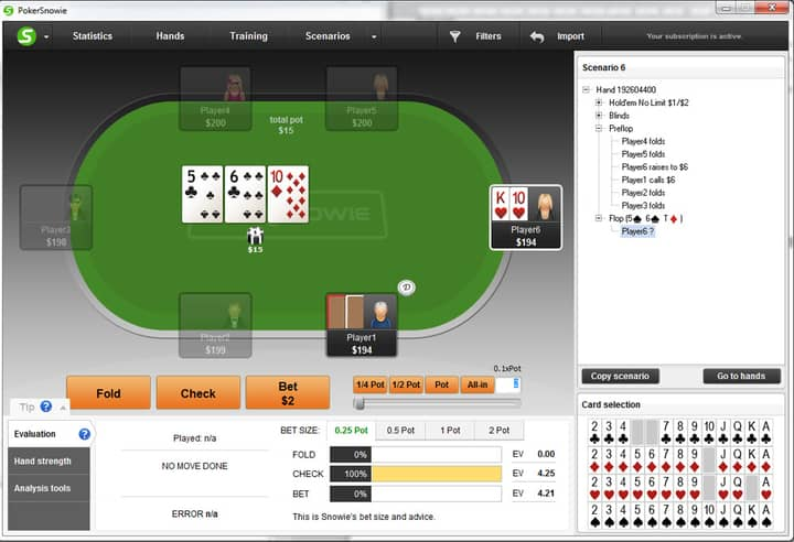 continuation bet strategy top pair
