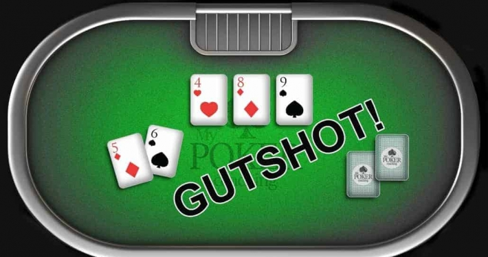 inside straight draw gutshot