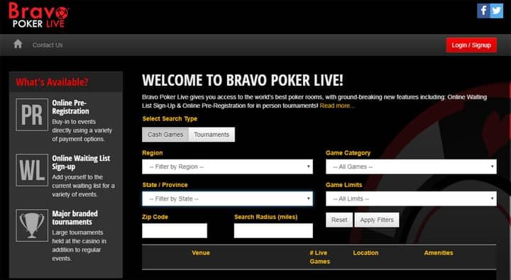 bravo poker live website tool