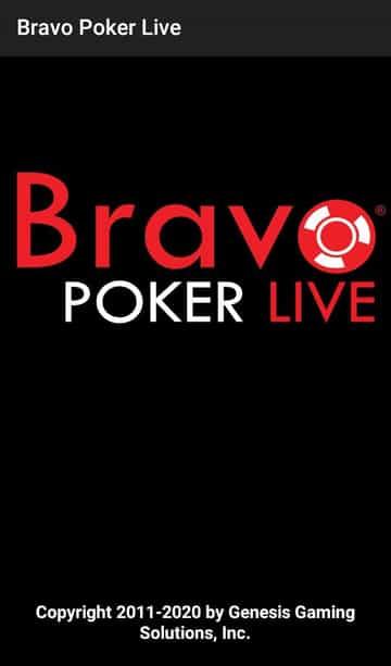 bravo poker live