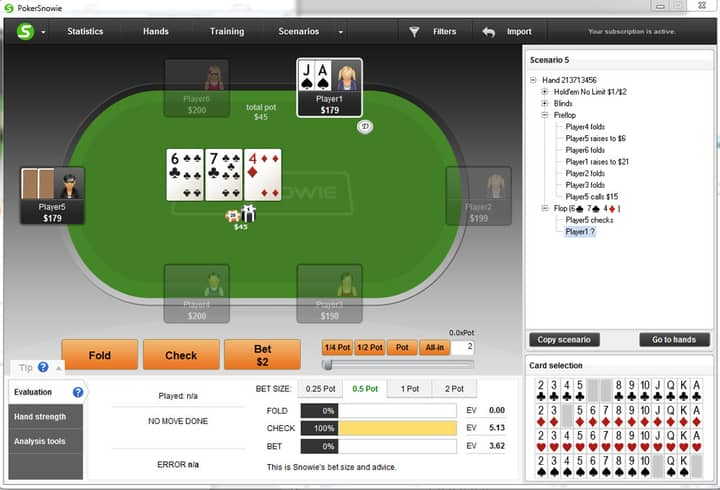 rec poker players