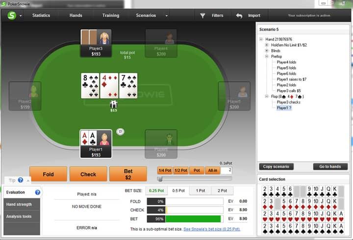 bet sizing poker tips