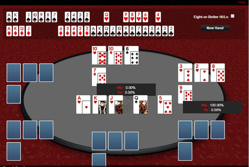 plo poker rules