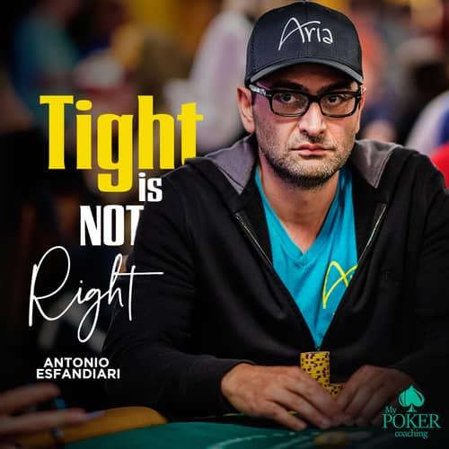 103. poker sayings Antonio