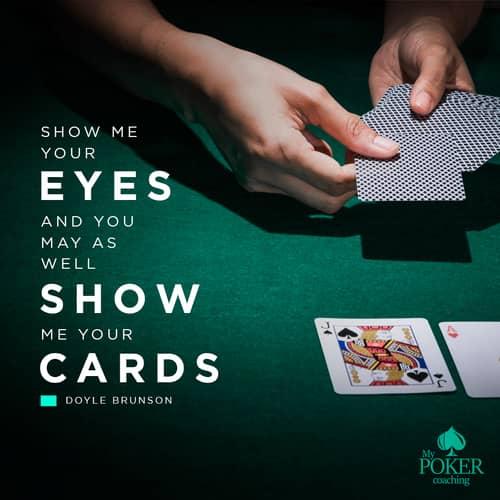 105. poker sayings
