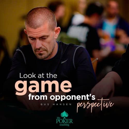 107. poker sayings Gus Hansen