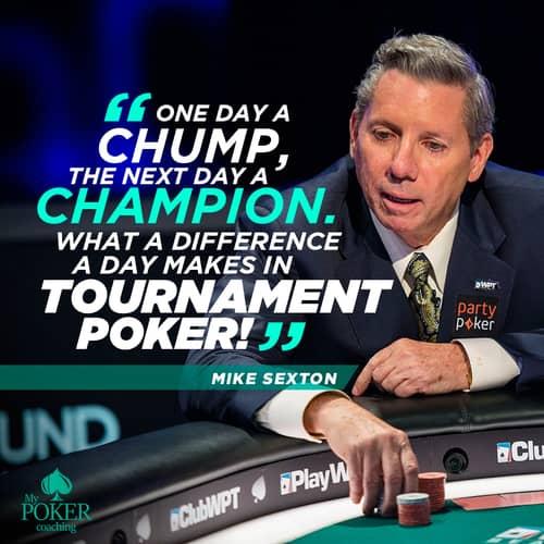 108. mike sexton poker sayings