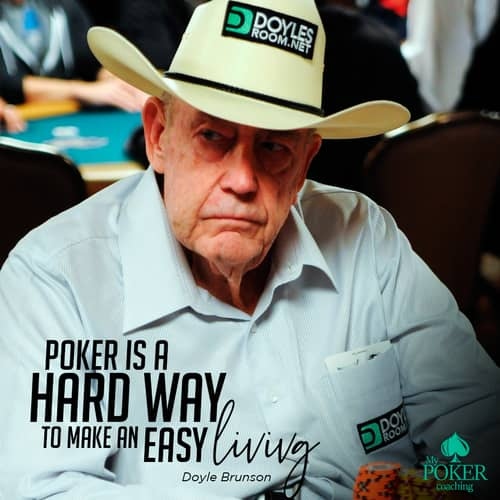 2. famous poker quotes Doyle Brunson