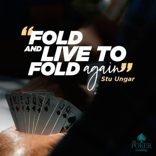 25. Stu Ungar poker quote