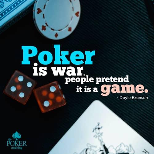 3. Doyle Brunson famous poker quotes