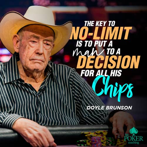 34. known inspirational poker quotes
