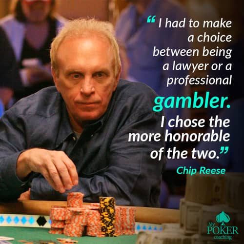 58. funny poker quotes phrases Chip Reese
