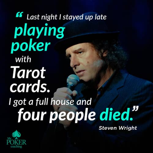 60. funny poker quotes phrases