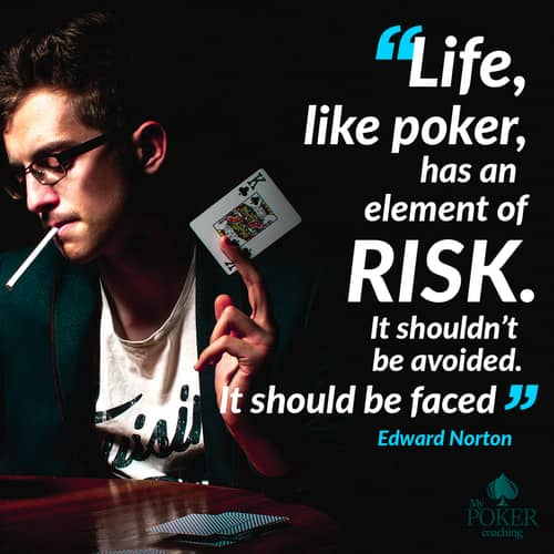 70. quotes about poker and life