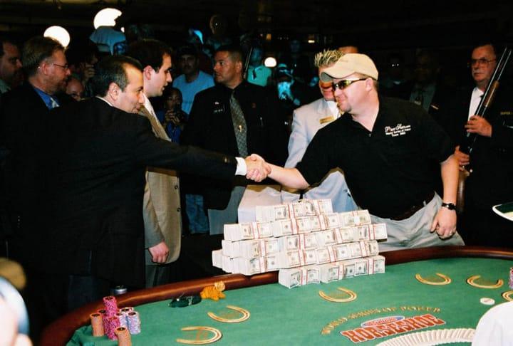 history of poker - chris moneymaker boom
