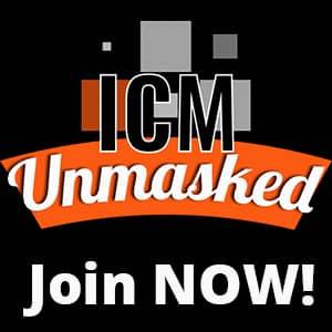 ICM unmasked banner