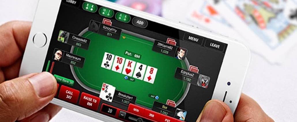 playing poker on mobile apps