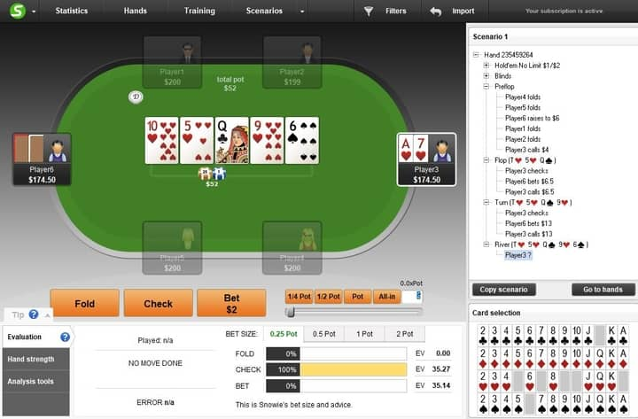 poker flush draw