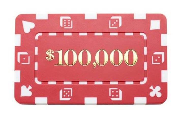 rectangular poker chip plaques