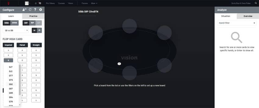 rio vision gto trainer