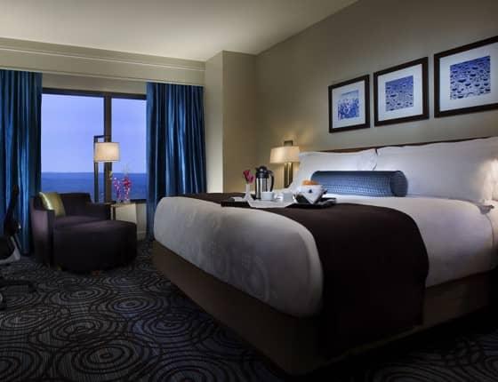 Foxwoods hotel room