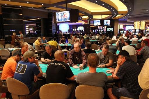 Planet Hollywood poker room