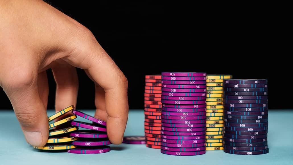 best poker chip tricks