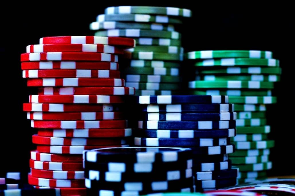 poker chips trick