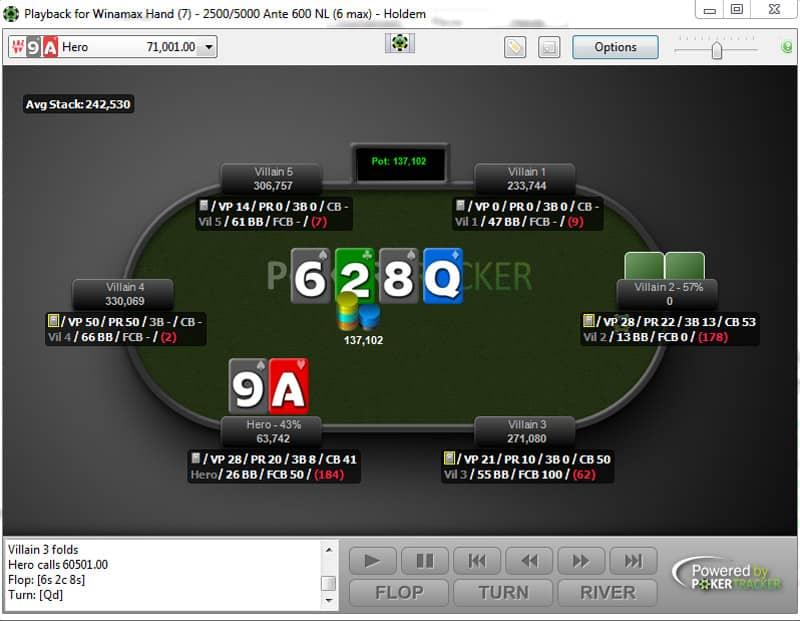 poker tracker 4 hand replayer