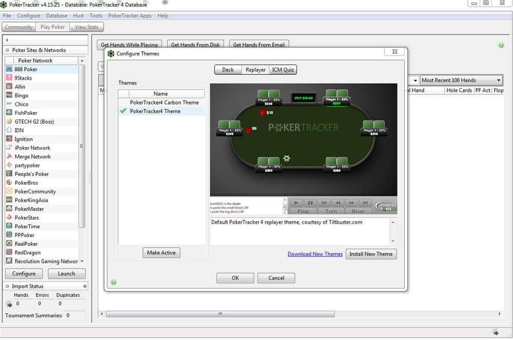poker tracker 4 software