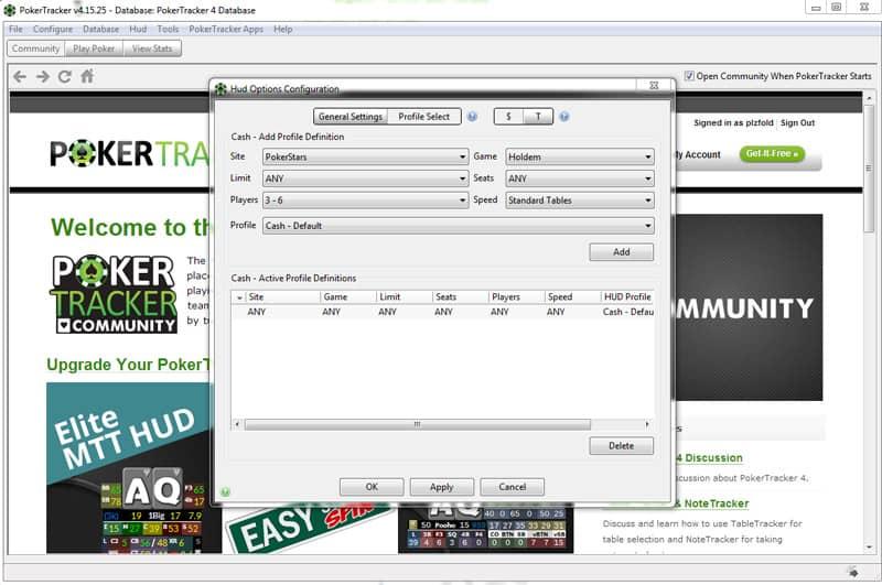 poker tracker review HUD options