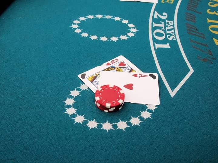 blackjack odds in casino