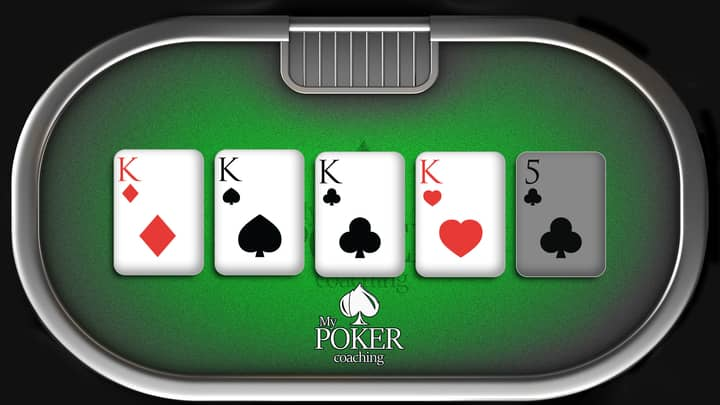 four of a kind poker hands