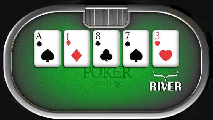 how to play texas holdem - river